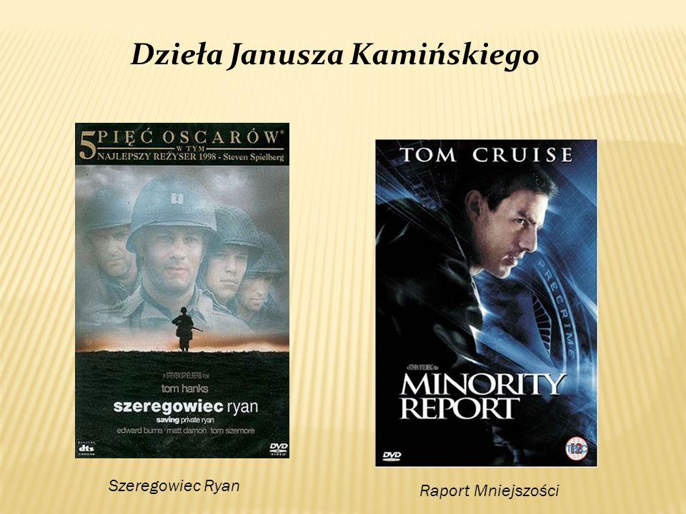 Dzieła Janusza Kamińskiego