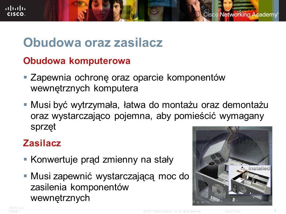 Obudowa oraz zasilacz Obudowa komputerowa