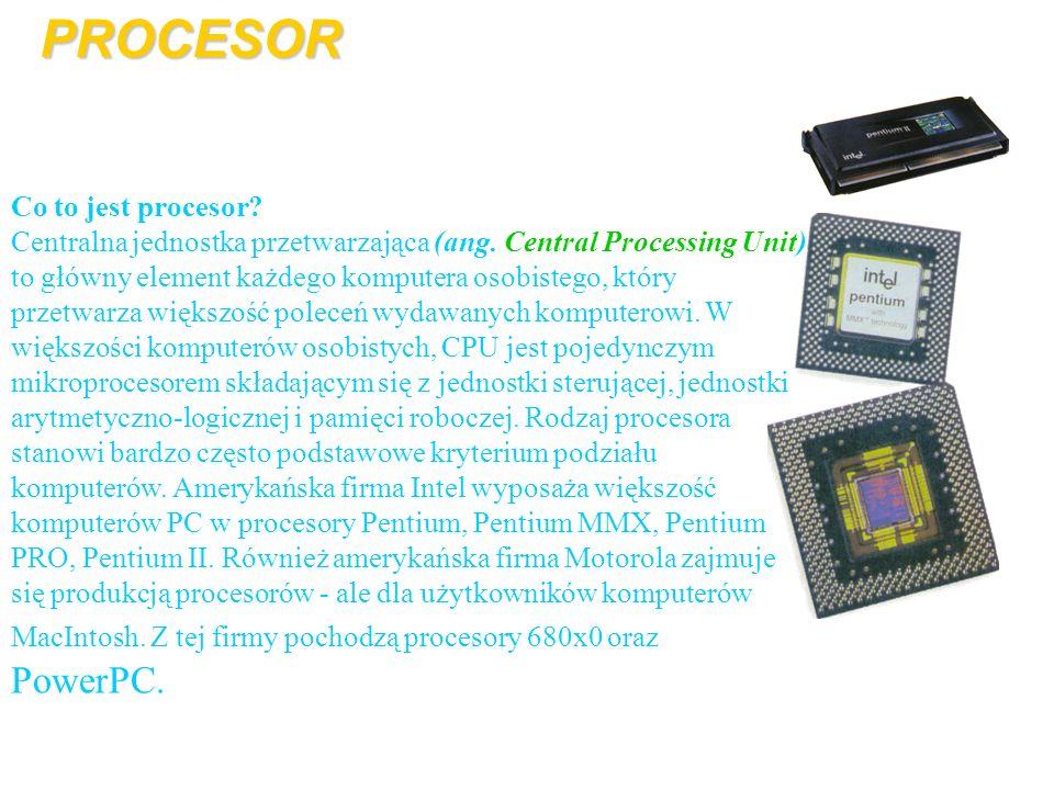 PROCESOR Co to jest procesor