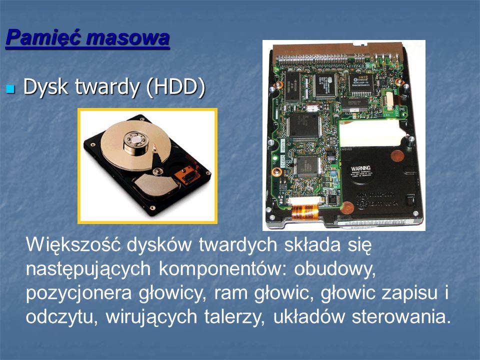 Pamięć masowa Dysk twardy (HDD)