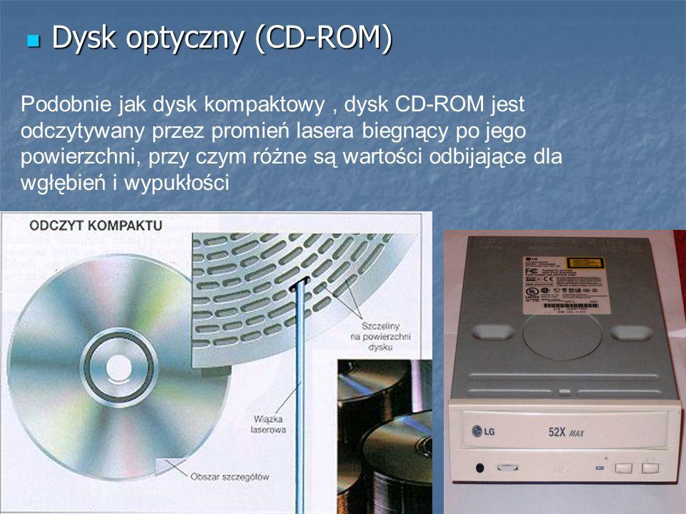 Dysk optyczny (CD-ROM)