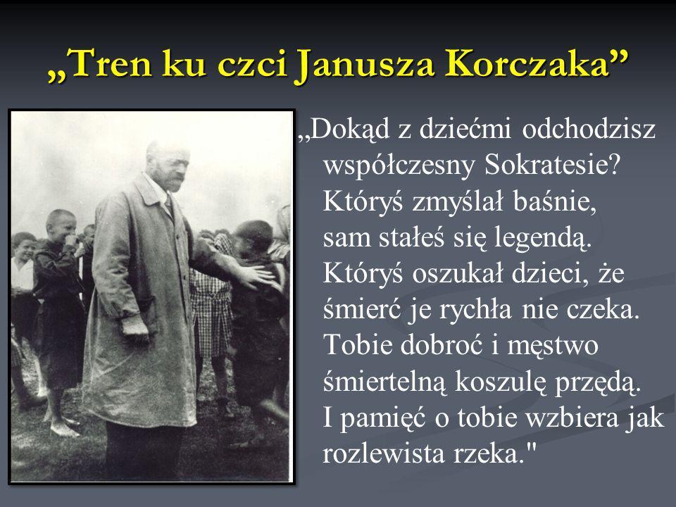 """""""Tren ku czci Janusza Korczaka"""