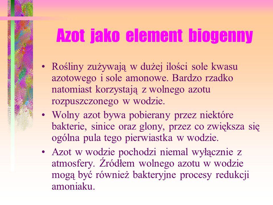 Azot jako element biogenny