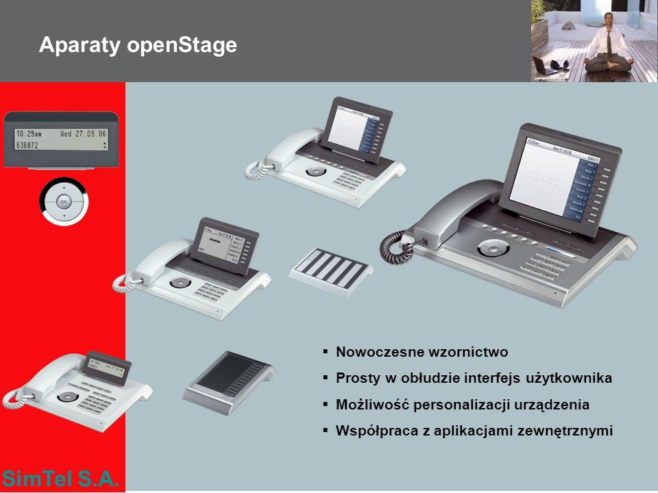 Aparaty openStage Nowoczesne wzornictwo