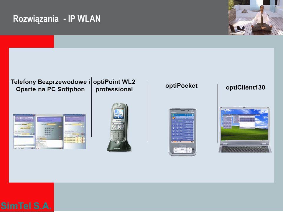 Rozwiązania - IP WLAN Telefony Bezprzewodowe i Oparte na PC Softphon