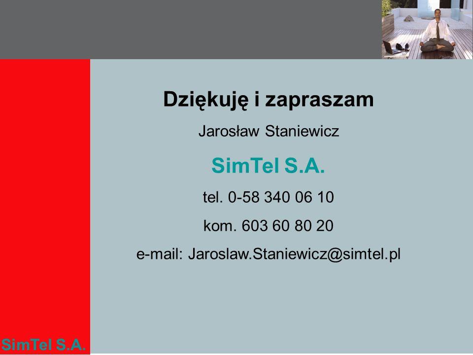 e-mail: Jaroslaw.Staniewicz@simtel.pl