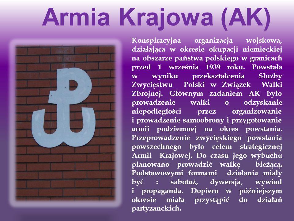 Armia Krajowa (AK)