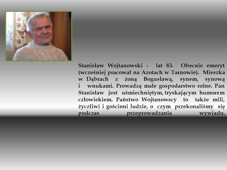 Stanisław Wojtanowski - lat 83