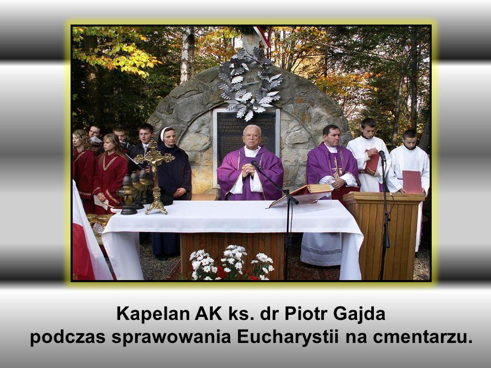 Kapelan AK ks. dr Piotr Gajda