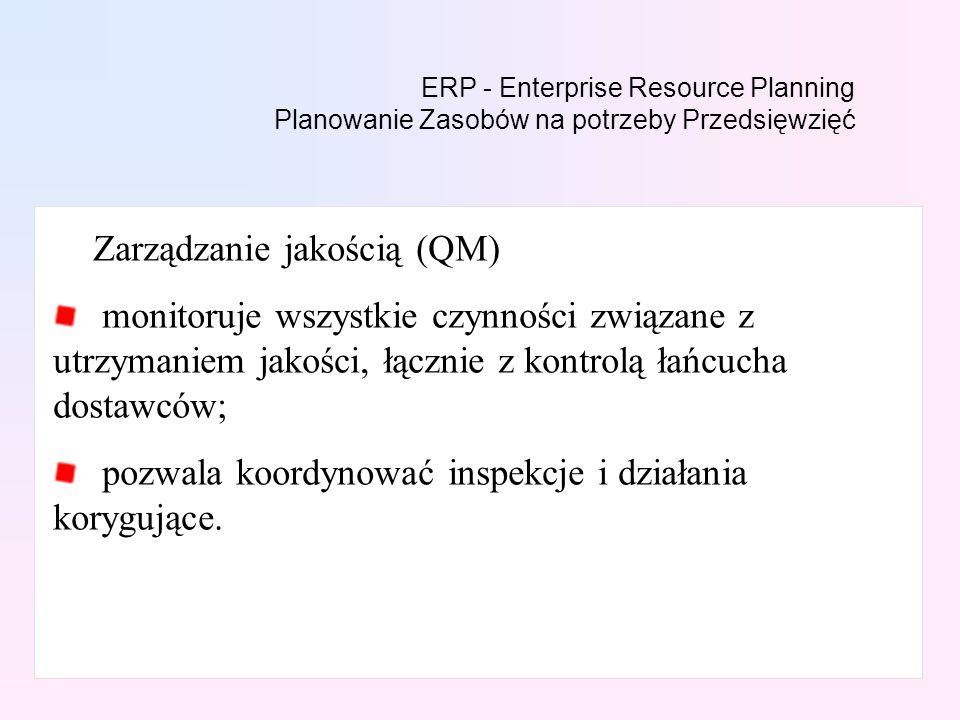 Zarządzanie jakością (QM)