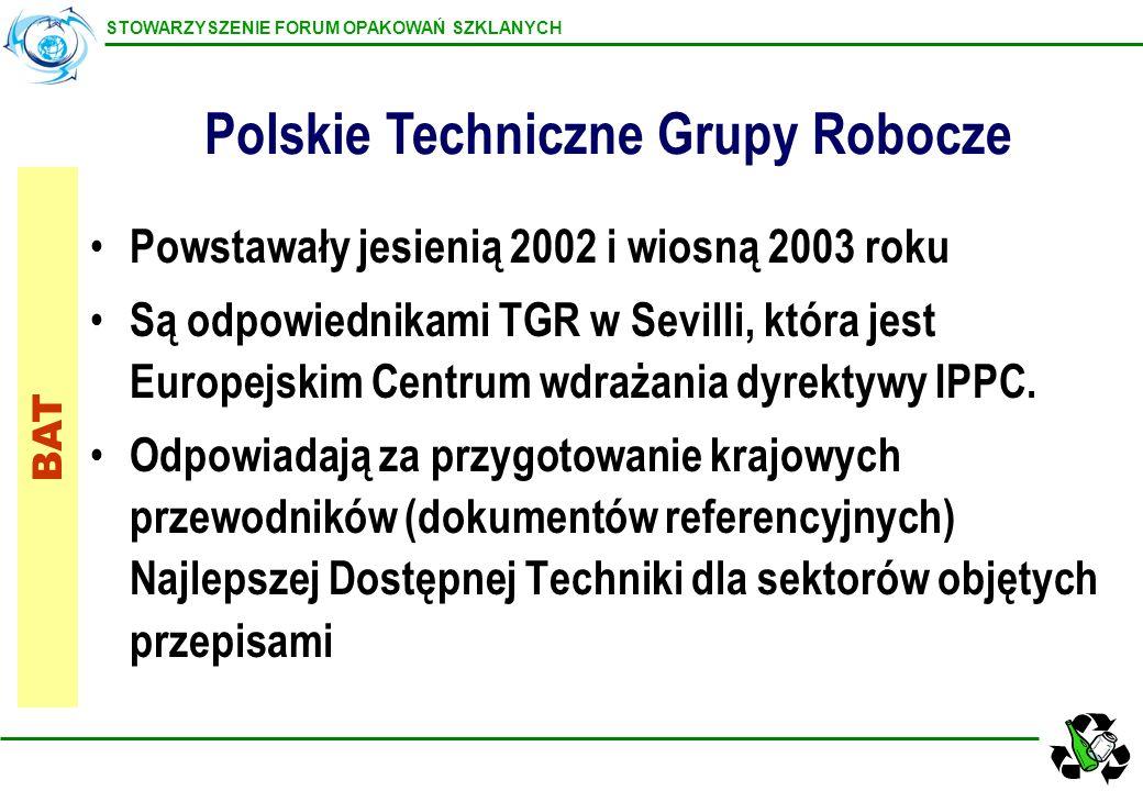 Polskie Techniczne Grupy Robocze