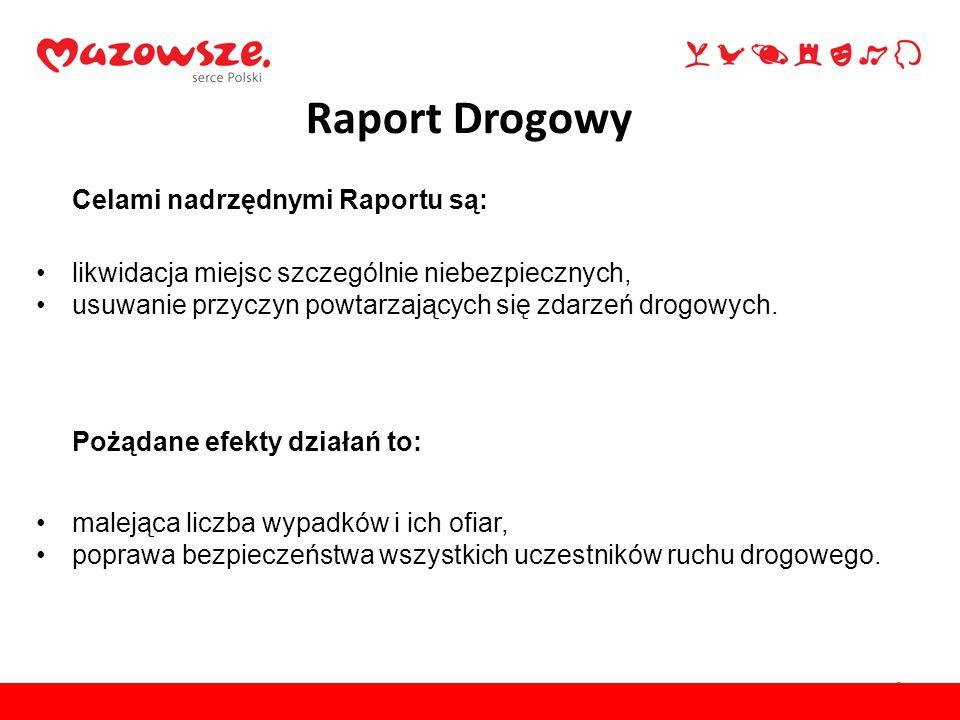 Raport Drogowy Celami nadrzędnymi Raportu są: