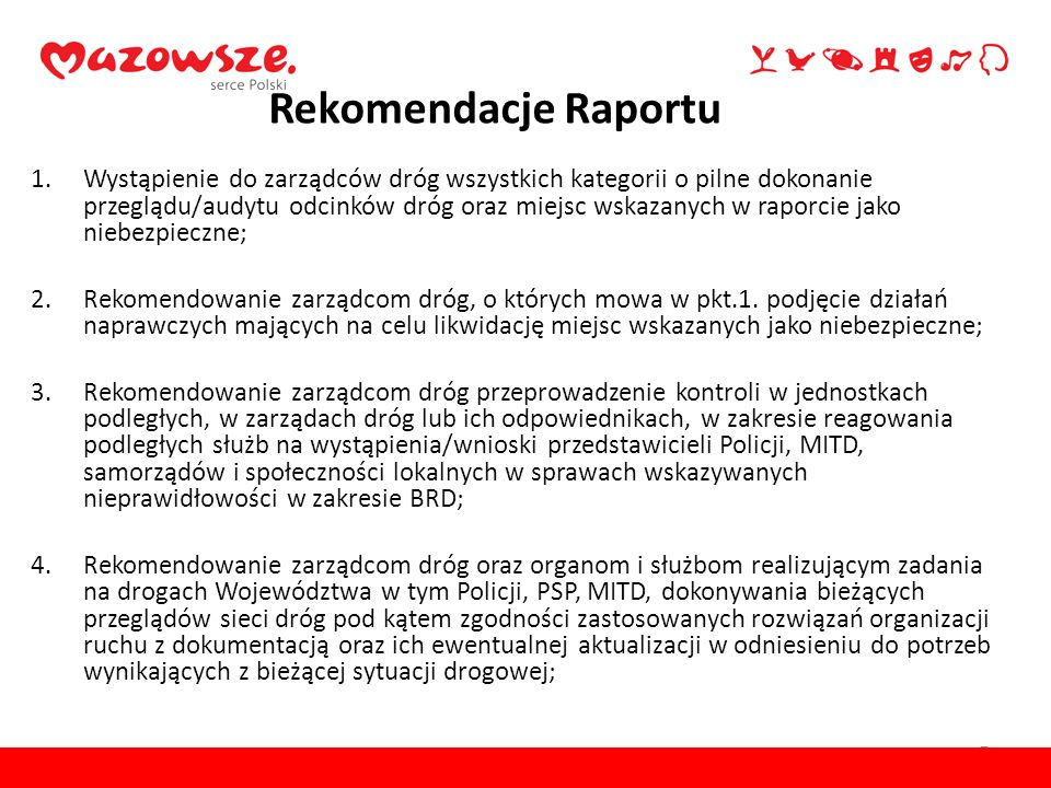 Rekomendacje Raportu