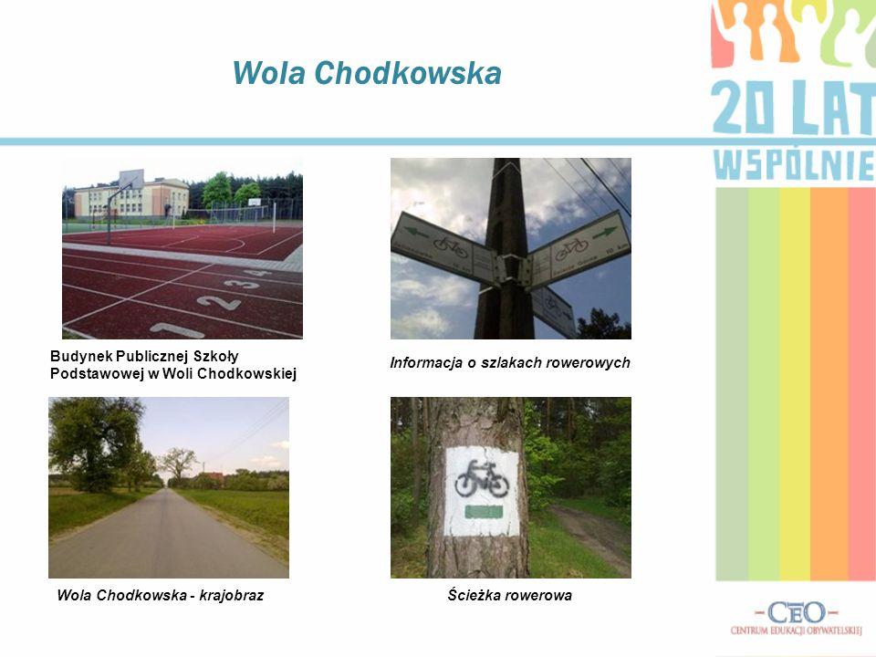 Informacja o szlakach rowerowych