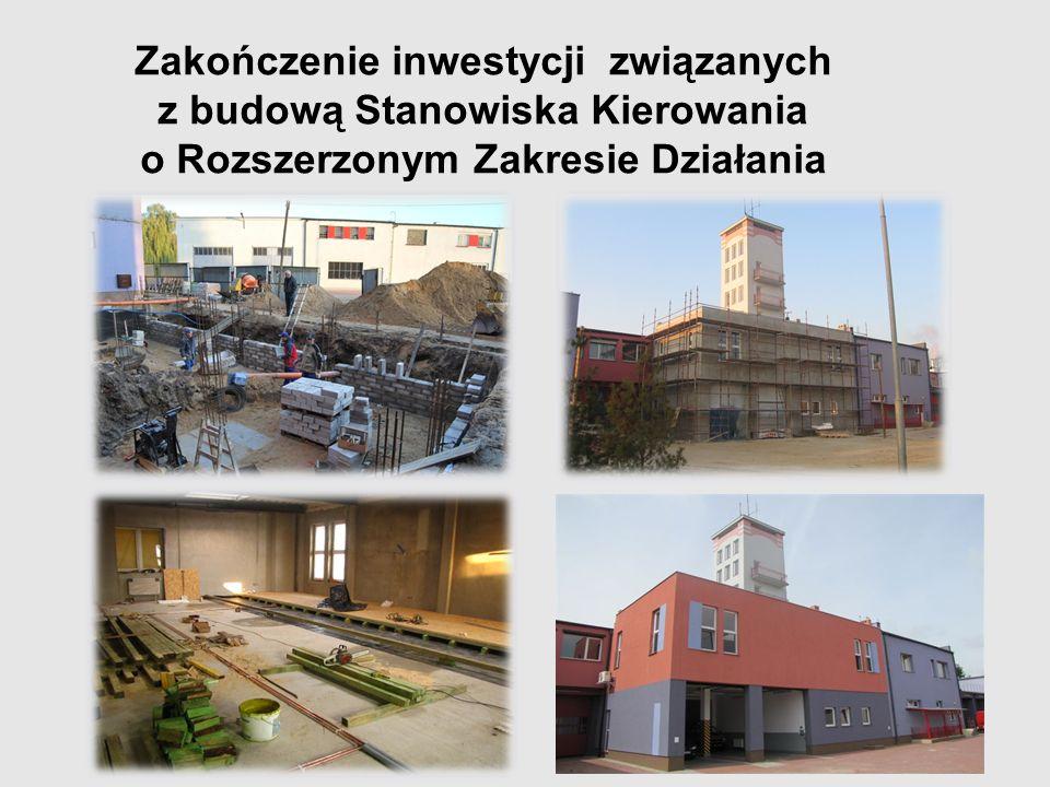 Zakończenie inwestycji związanych z budową Stanowiska Kierowania o Rozszerzonym Zakresie Działania