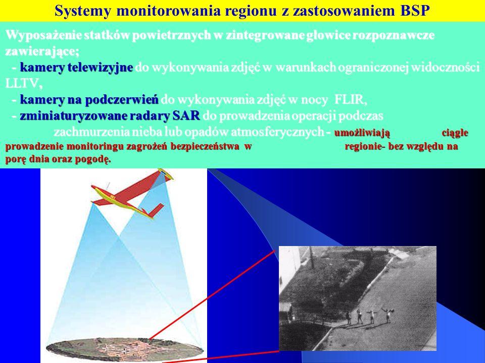 Systemy monitorowania regionu z zastosowaniem BSP