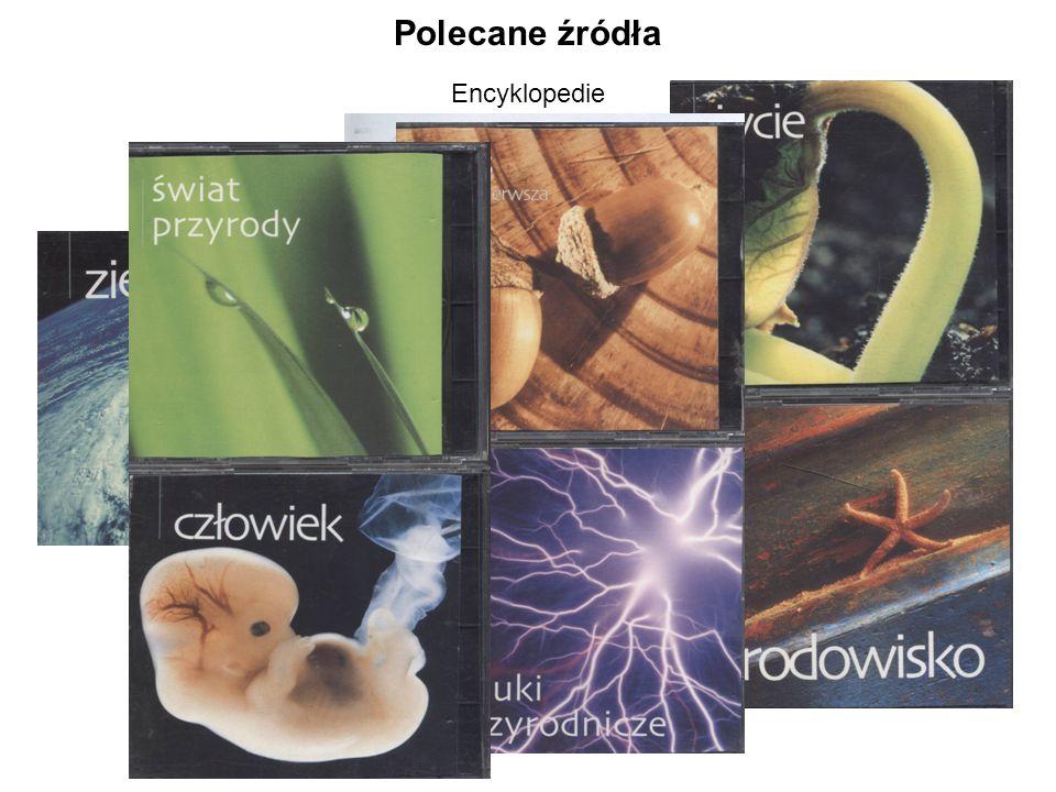 Polecane źródła Encyklopedie