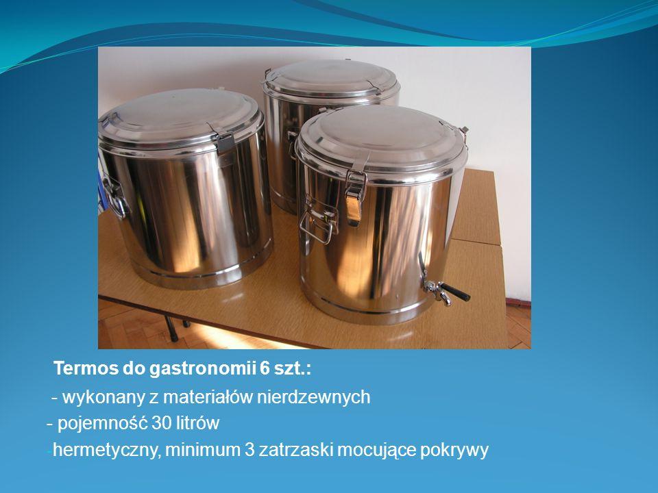 Termos do gastronomii 6 szt.: