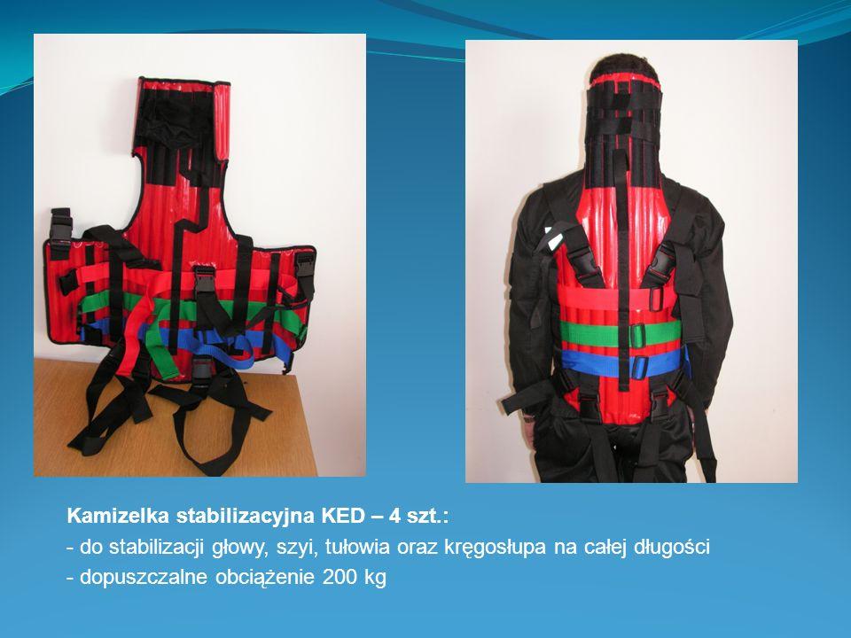 Kamizelka stabilizacyjna KED – 4 szt.: