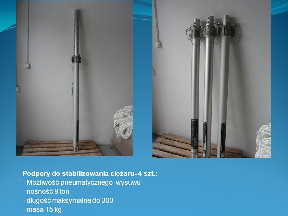 Podpory do stabilizowania ciężaru- 4 szt.: