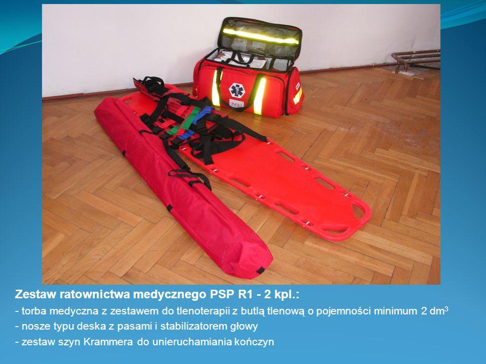 Zestaw ratownictwa medycznego PSP R1 - 2 kpl.: