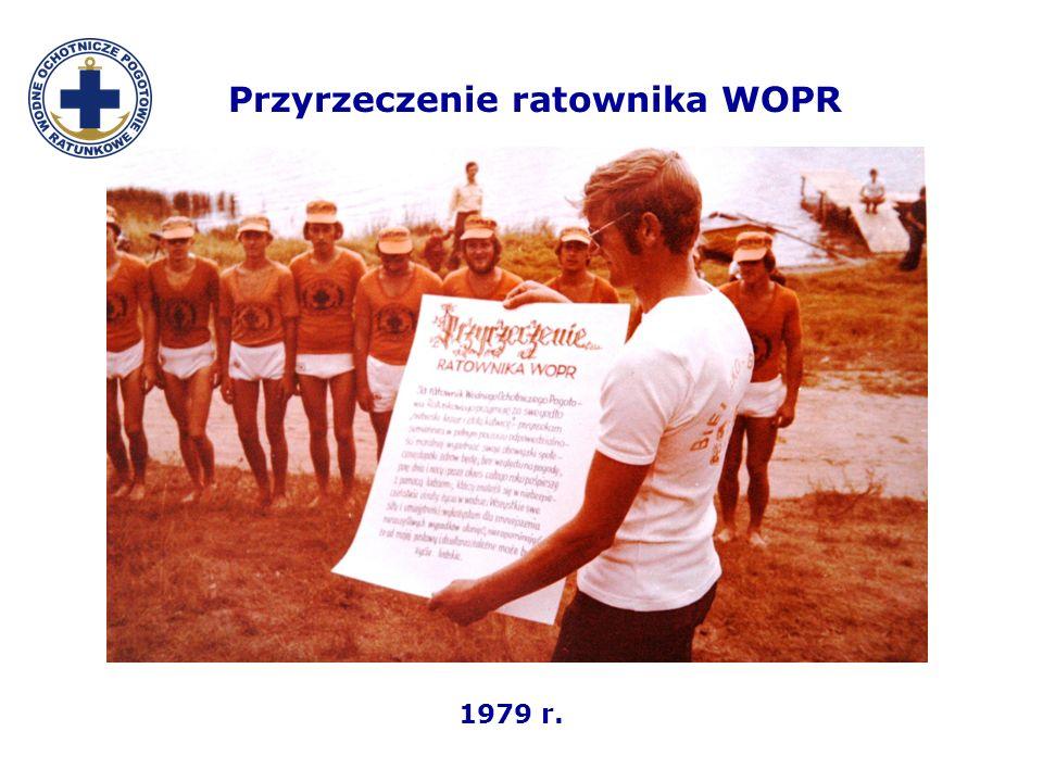 Przyrzeczenie ratownika WOPR