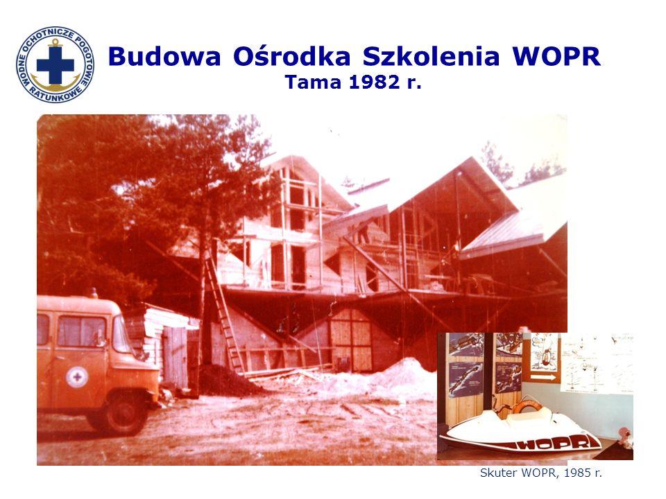 Budowa Ośrodka Szkolenia WOPR