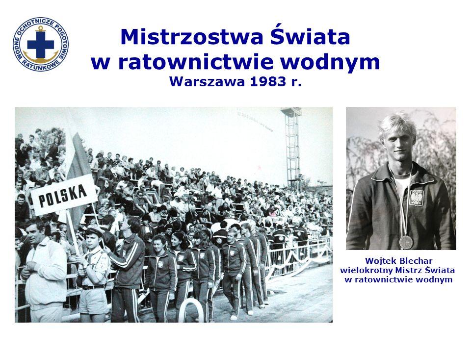 Mistrzostwa Świata w ratownictwie wodnym Warszawa 1983 r.