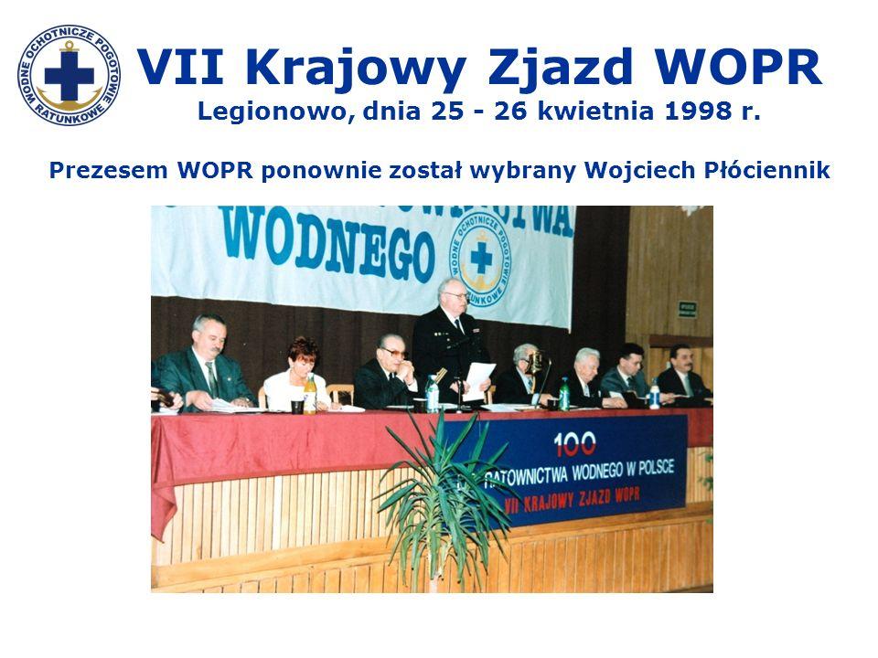 VII Krajowy Zjazd WOPR Legionowo, dnia 25 - 26 kwietnia 1998 r.