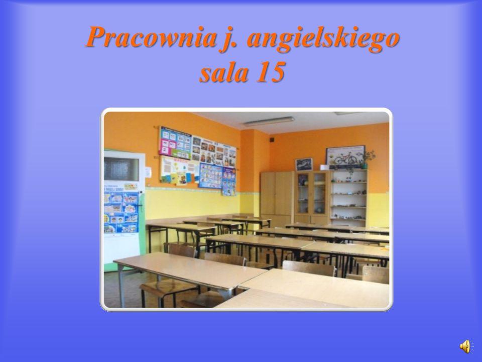 Pracownia j. angielskiego sala 15