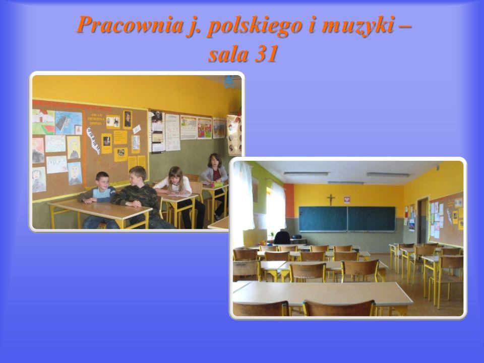 Pracownia j. polskiego i muzyki – sala 31