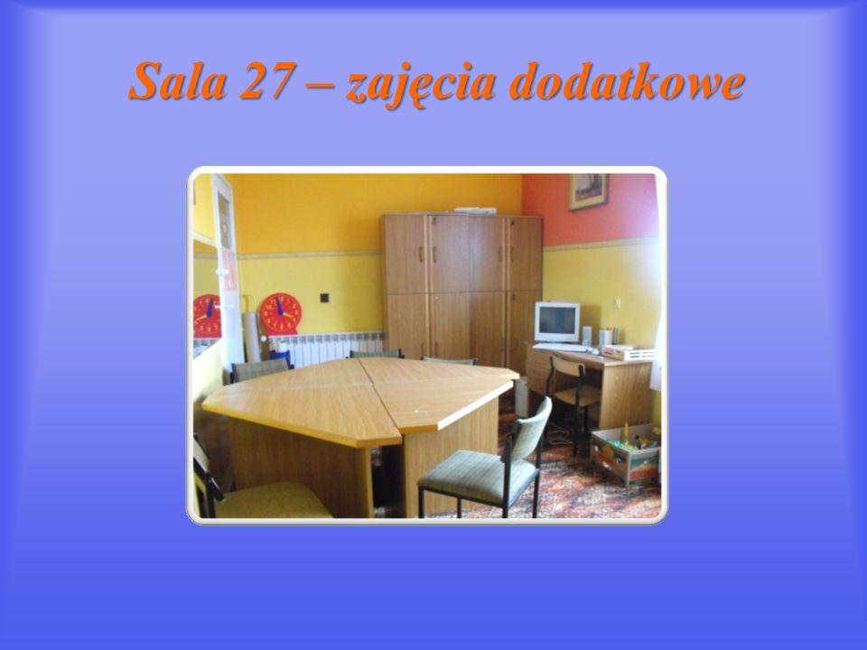 Sala 27 – zajęcia dodatkowe