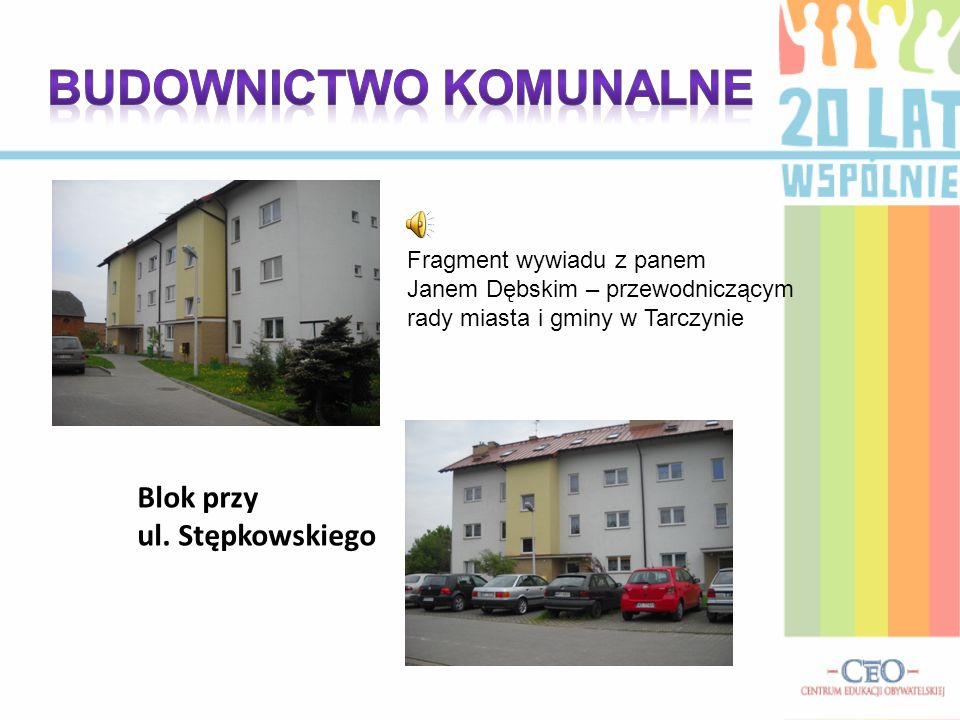 budownictwo komunalne