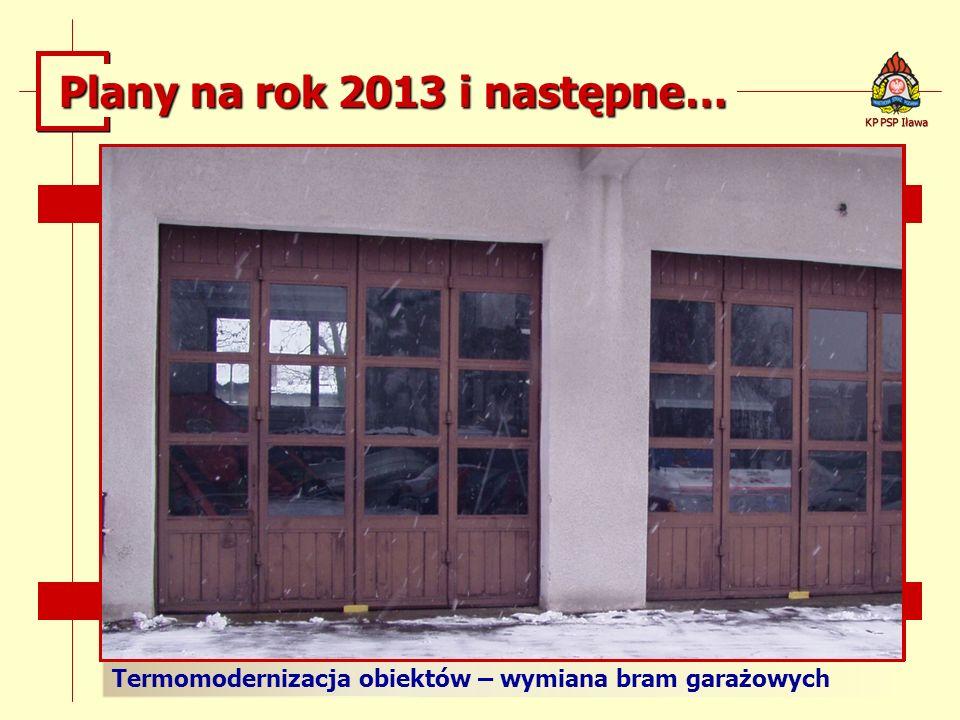 Plany na rok 2013 i następne…
