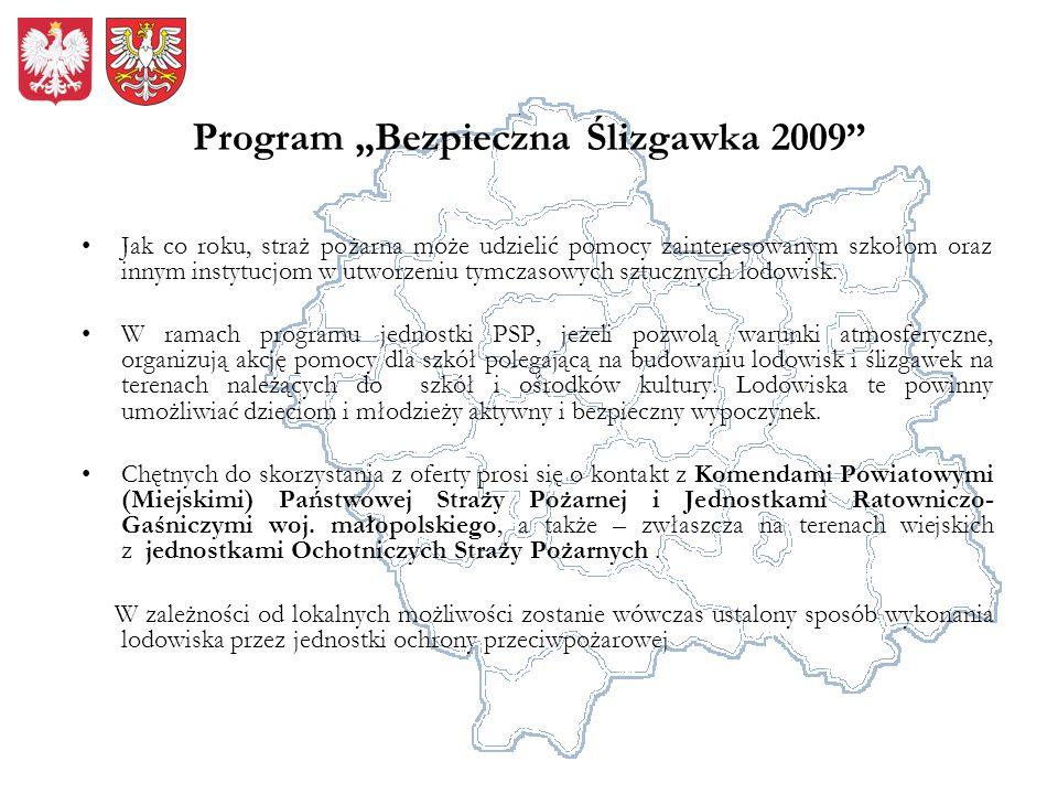 """Program """"Bezpieczna Ślizgawka 2009"""
