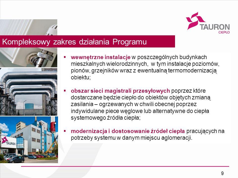 Kompleksowy zakres działania Programu