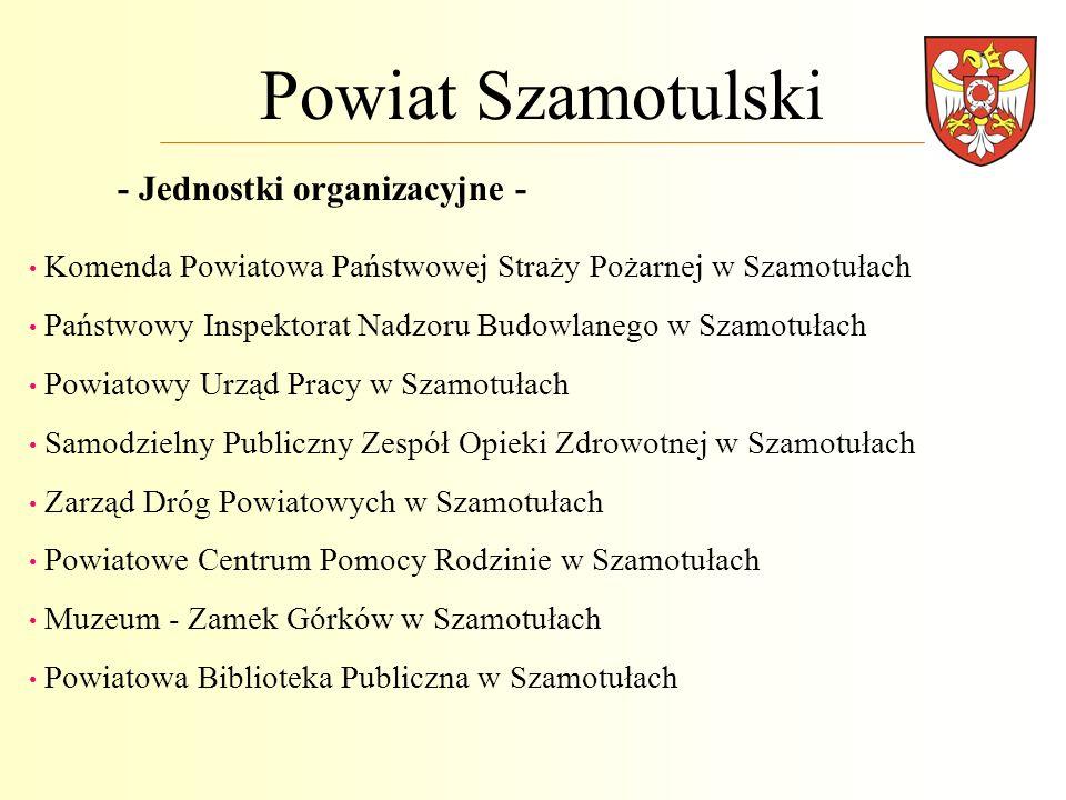 Powiat Szamotulski - Jednostki organizacyjne -