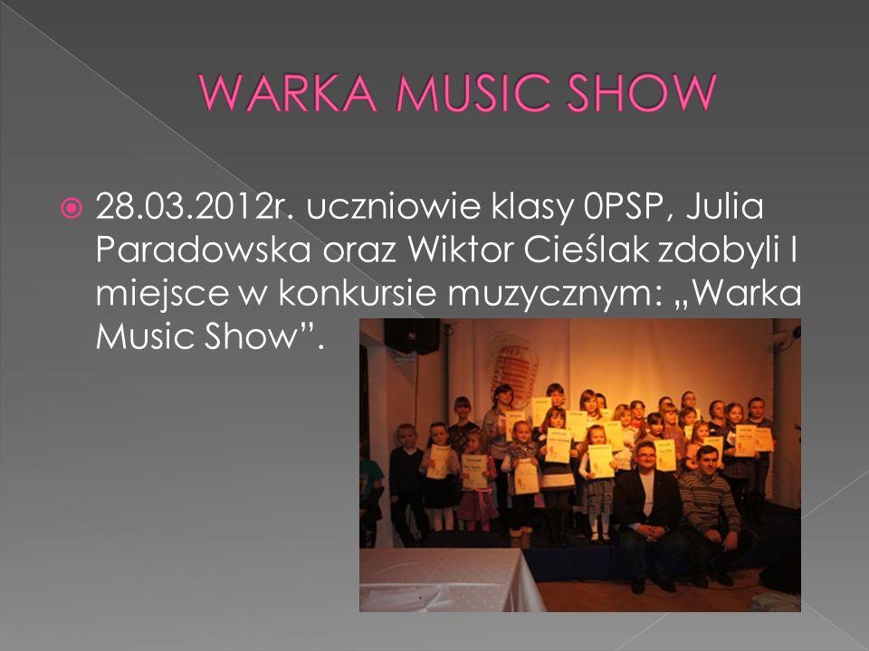 WARKA MUSIC SHOW 28.03.2012r.