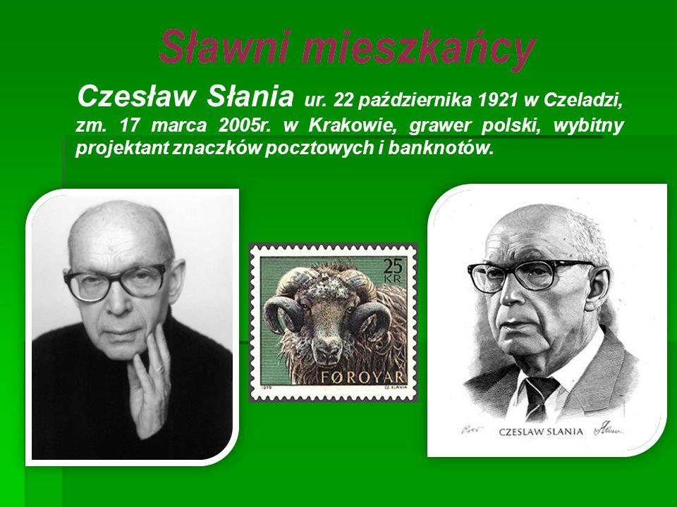 Czesław Słania ur. 22 października 1921 w Czeladzi, zm. 17 marca 2005r
