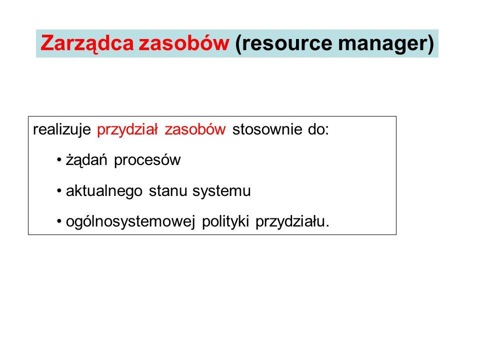 Zarządca zasobów (resource manager)