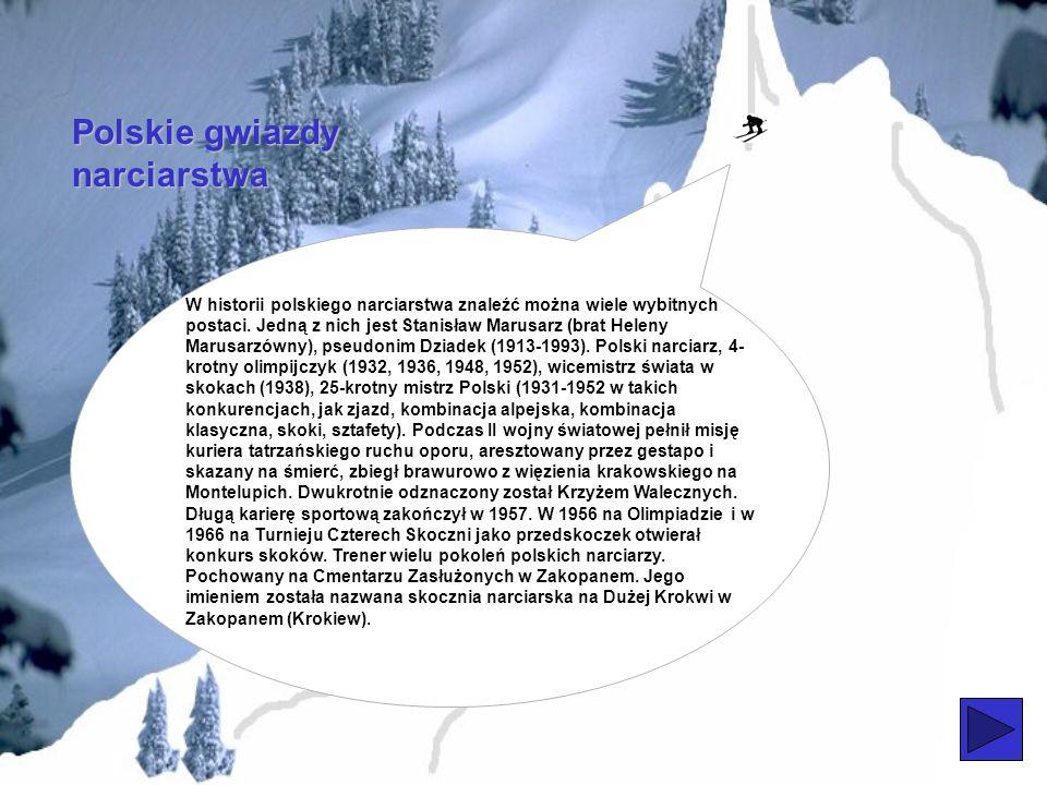 Polskie gwiazdy narciarstwa