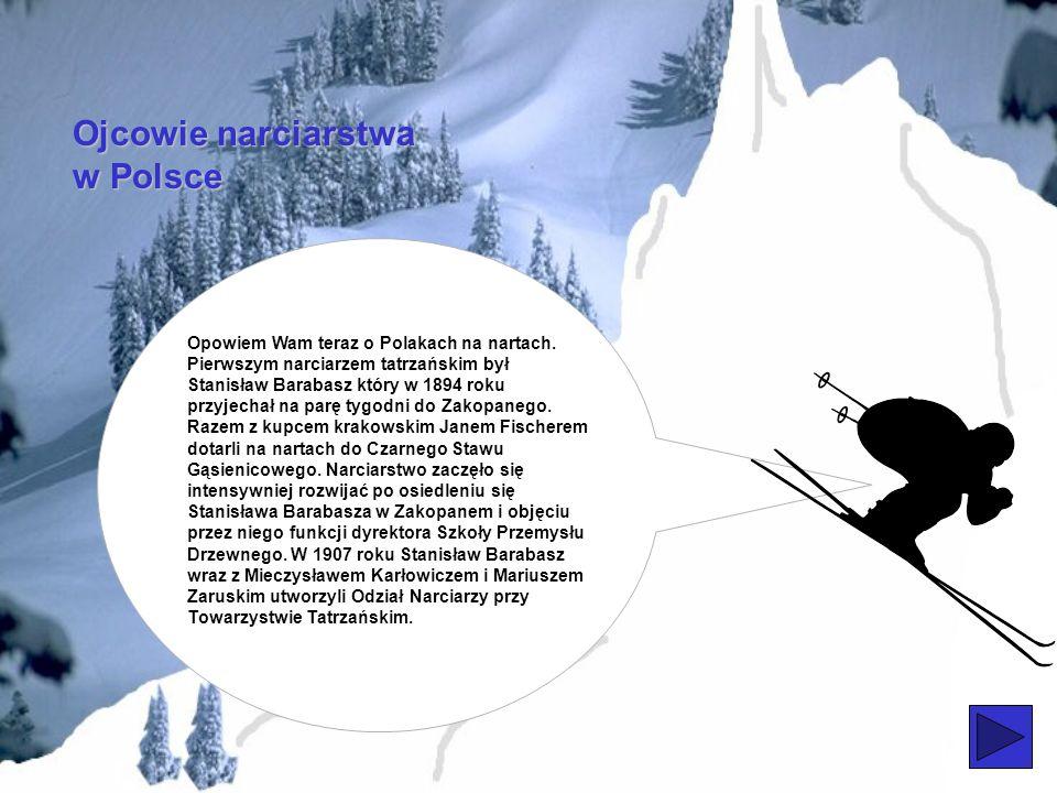 Ojcowie narciarstwa w Polsce