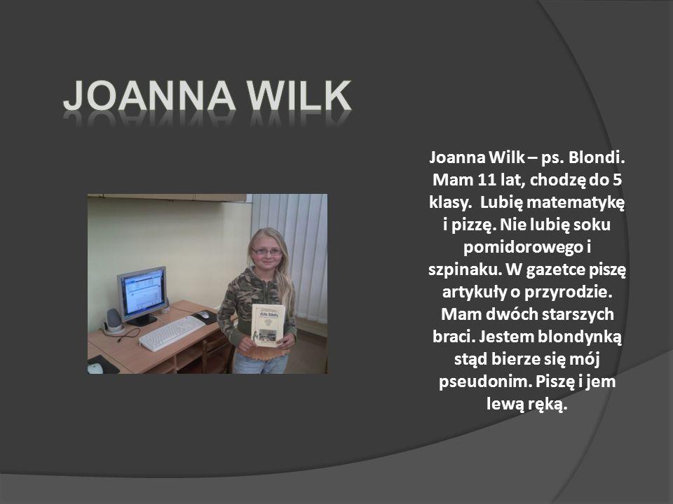 Joanna Wilk