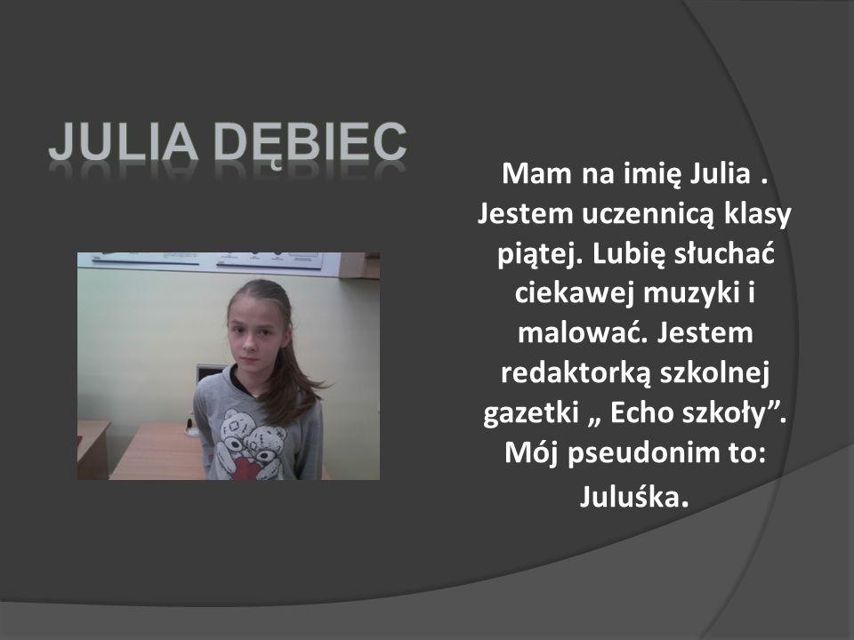 Julia dębiec