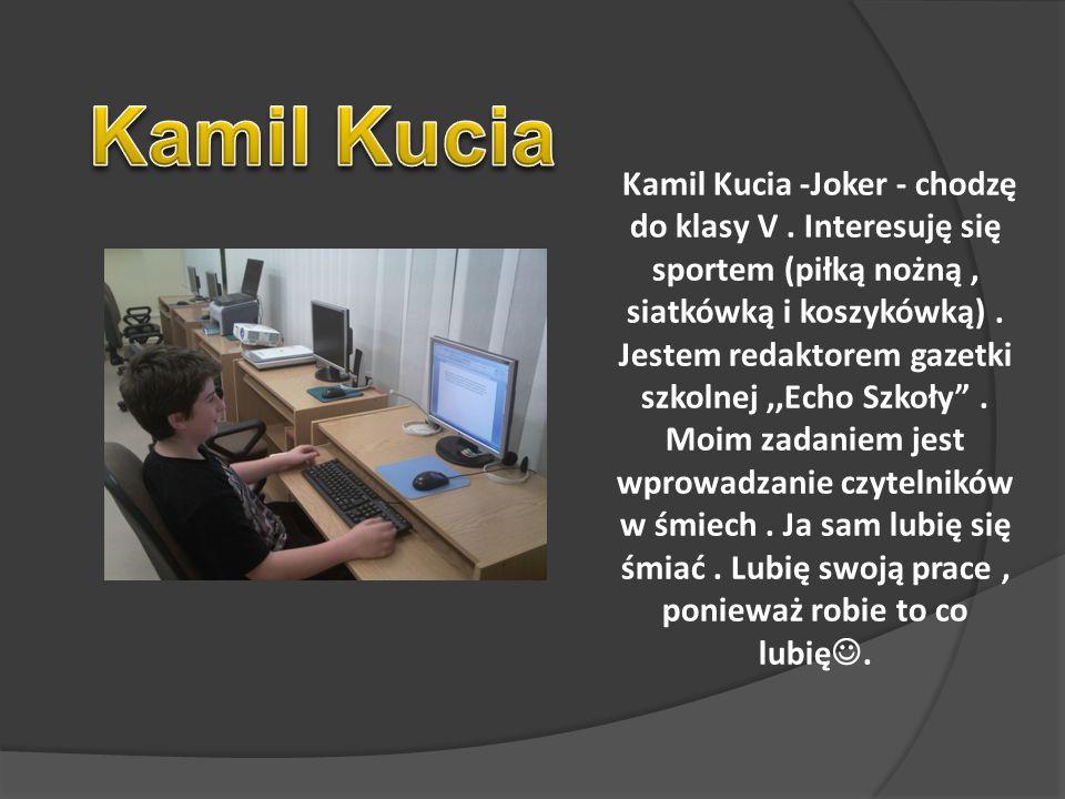 Kamil Kucia