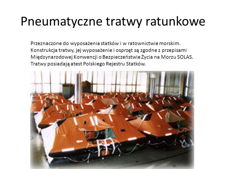 Pneumatyczne tratwy ratunkowe