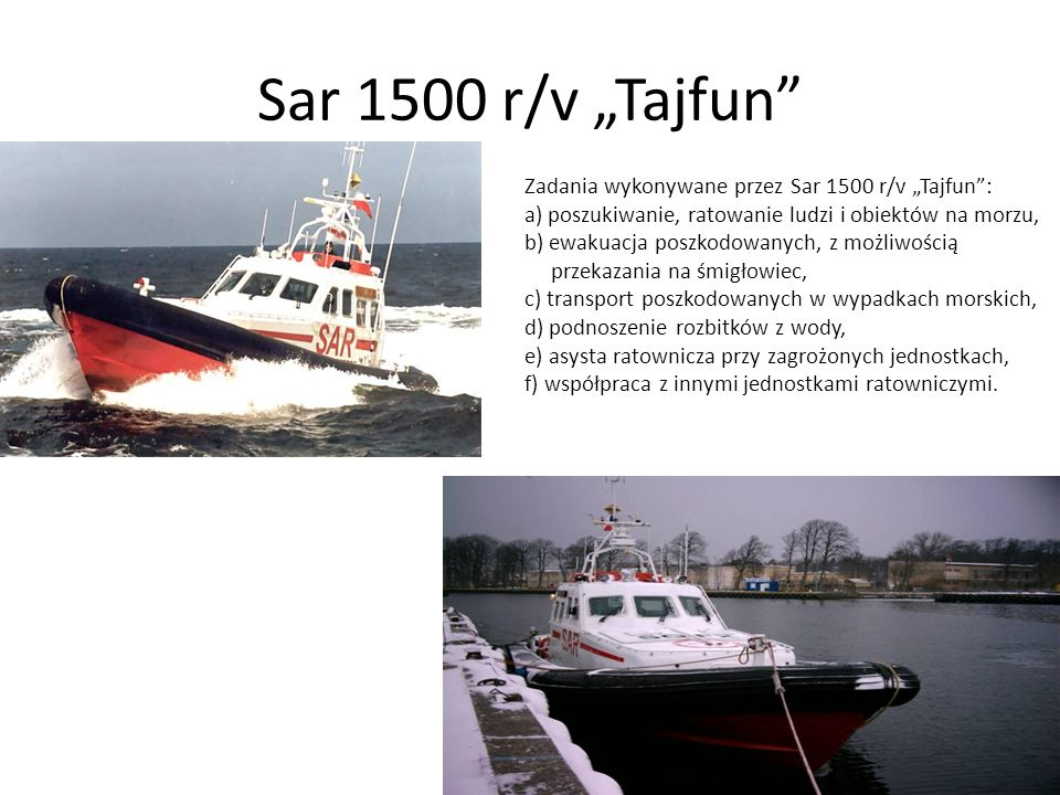 """Sar 1500 r/v """"Tajfun"""