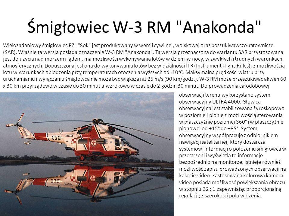 Śmigłowiec W-3 RM Anakonda