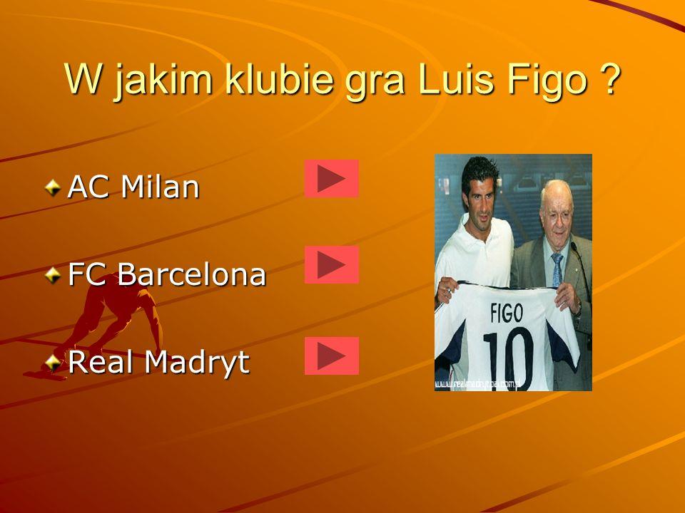 W jakim klubie gra Luis Figo