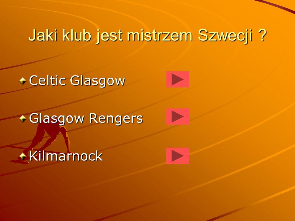 Jaki klub jest mistrzem Szwecji